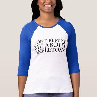 Camiseta não me lembre