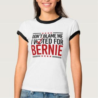 Camiseta Não me responsabilize que eu votei para Bernie --