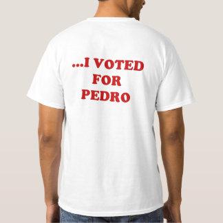 Camiseta NÃO ME RESPONSABILIZE… que EU VOTEI PARA o t-shirt