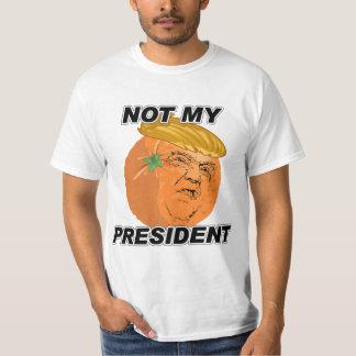 Camiseta Não meu presidente