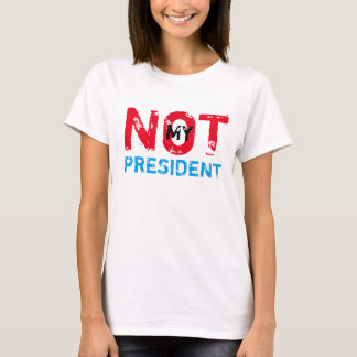 Camiseta Não meu presidente Trunfo Protesto