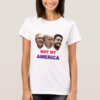 Camiseta Não minha América