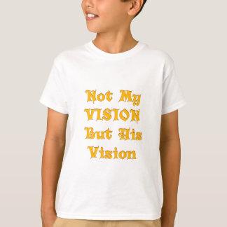 Camiseta Não minha visão mas sua visão