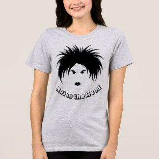 Camiseta NÃO no t-shirt do jérsei do ajustado do HUMOR