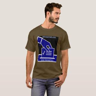 Camiseta Não obstante