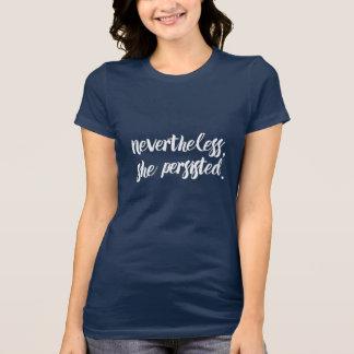 Camiseta Não obstante, persistiu //Elizabeth Warren