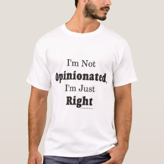 Camiseta Nao opinativo