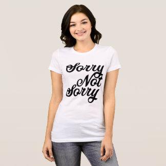 Camiseta Nao pesaroso pesaroso