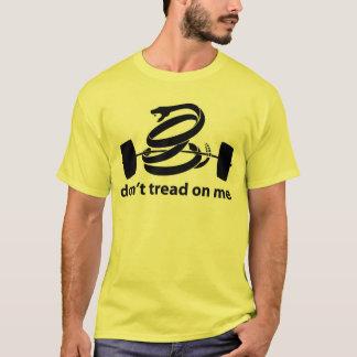 Camiseta Não pise