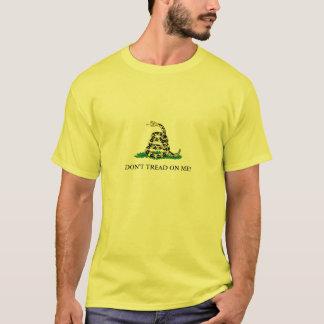 Camiseta Não pise em mim o t-shirt