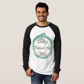 Camiseta Não pise em mim o t-shirt gráfico