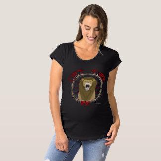 Camiseta Não pode domesticar o t-shirt da maternidade do