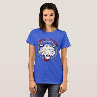 Camiseta Não pode domesticar o t-shirt das senhoras do