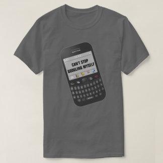 Camiseta Não pode parar o texto engraçado de Googling eu