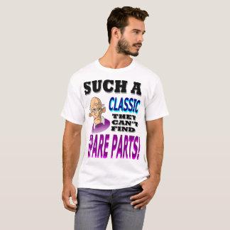 Camiseta Não podem encontrar peças sobresselentes