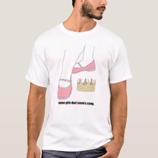 Camiseta não precise uma coroa