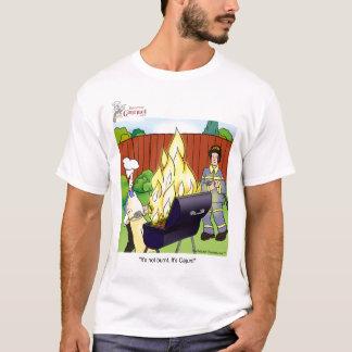 Camiseta Não queimado - Cajun