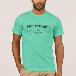 Camiseta Nao reto, mas de suporte