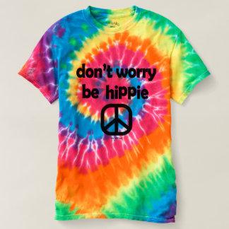 Camiseta Não se preocupe seja senhoras do T da tintura do