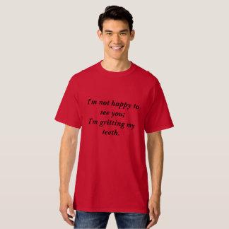 Camiseta Não seja confundido