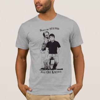 Camiseta Não seja estúpido