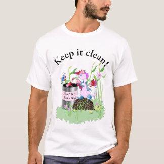 Camiseta Não seja um inseto da maca!