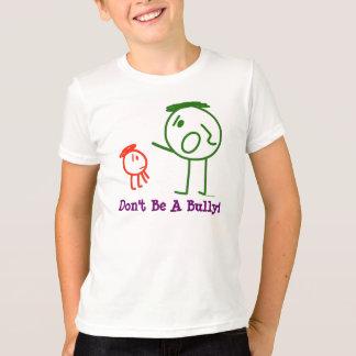Camiseta Não seja uma intimidação!  o t-shirt do miúdo