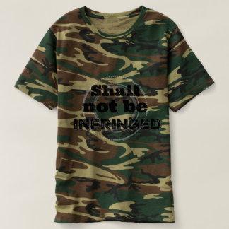 Camiseta Não será transgredido - orgulho do patriota
