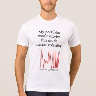 """Camiseta """"… não sobreviverá a esta muita volatilidade do"""