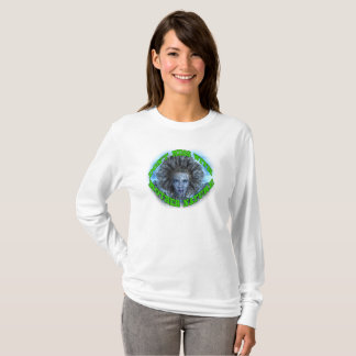 "Camiseta ""Não suje com branco da mãe Natureza"""