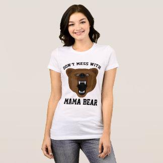 Camiseta NÃO SUJE COM MAMA CARREGAMENTO, t-shirt para a