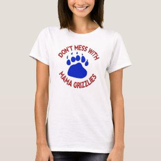 Camiseta Não suje com Mama Urso
