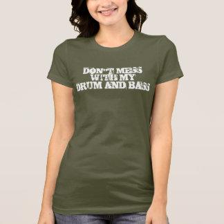 Camiseta Não suje com meus cilindro & baixo