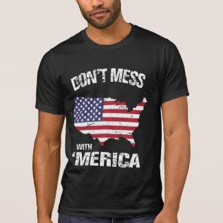 Camiseta Não suje com 'o Merica