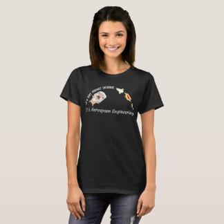 Camiseta Não t-shirt da engenharia aeroespacial da