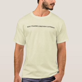 Camiseta Não tema a língua Latin (2)