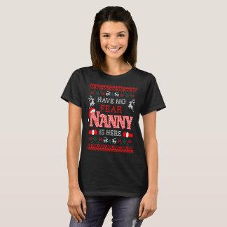 Camiseta Não tenha nenhum baby-sitter do medo está aqui