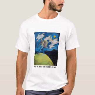 Camiseta Não todo o aqueles que vagueiam