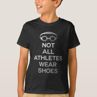 Camiseta Não todo o desgaste dos atletas calça o grande