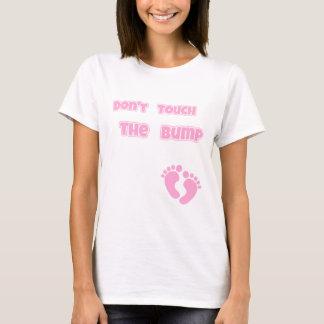 Camiseta Não toque no rosa