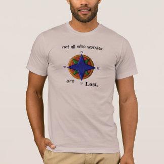 Camiseta Não tudo que vagueia
