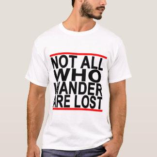 Camiseta Não tudo que Wander é T perdido Shirt.png