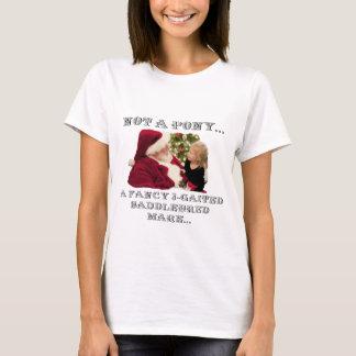 Camiseta NÃO Um PÔNEI - Um CAVALO do RICO 3-GAITED