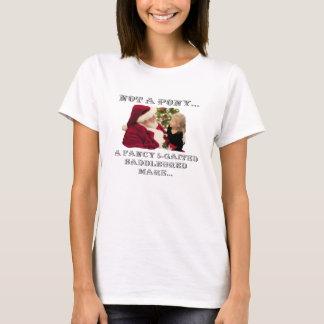 Camiseta NÃO Um PÔNEI - Um CAVALO do RICO 5-GAITED