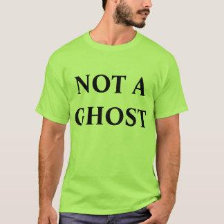 Camiseta não um T do fantasma