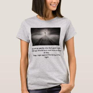 Camiseta Não vá delicado nesse t-shirt da boa noite