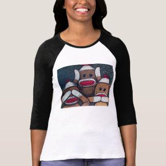 Camiseta Não veja nenhum macaco da peúga do mau