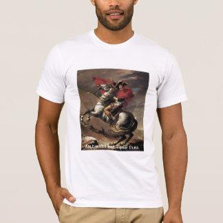 Camiseta Napoleon - capaz era I ere eu vi a Ilha de Elba