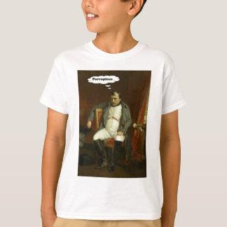 Camiseta Napoleon pensa sobre porcos-