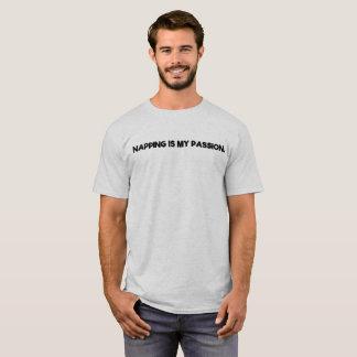Camiseta Napping é minha paixão
